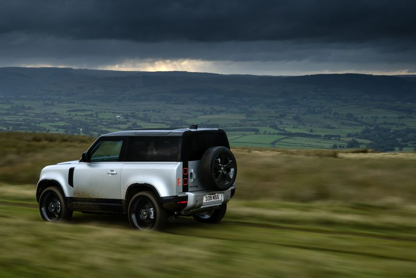 2021 Land Rover Defender – X-Dynamic trim variant, 404 PS P400e PHEV and inline-six Ingenium diesels Image #1173403