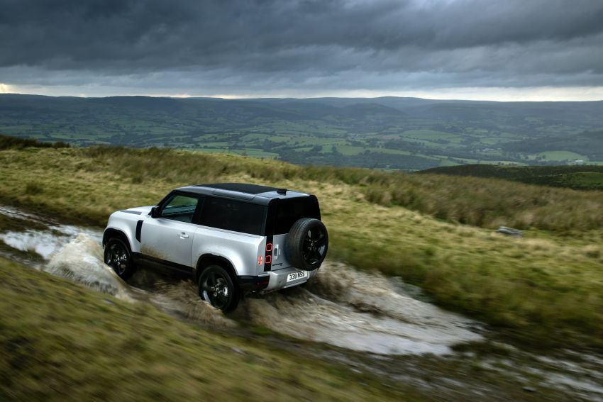 2021 Land Rover Defender – X-Dynamic trim variant, 404 PS P400e PHEV and inline-six Ingenium diesels Image #1173388