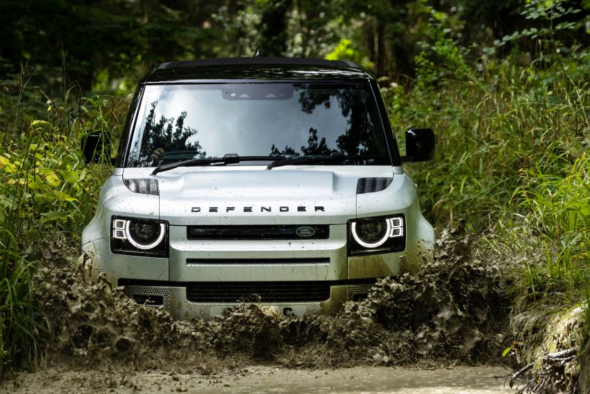 2021 Land Rover Defender – X-Dynamic trim variant, 404 PS P400e PHEV and inline-six Ingenium diesels Image #1173383