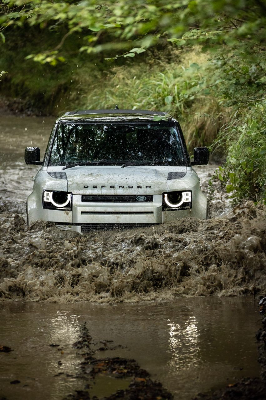 2021 Land Rover Defender – X-Dynamic trim variant, 404 PS P400e PHEV and inline-six Ingenium diesels Image #1173380
