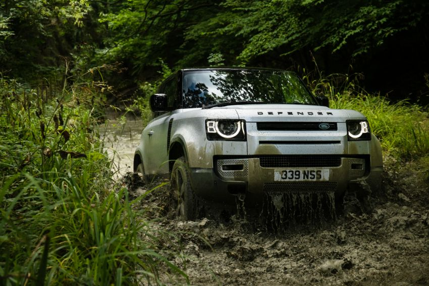 2021 Land Rover Defender – X-Dynamic trim variant, 404 PS P400e PHEV and inline-six Ingenium diesels Image #1173379