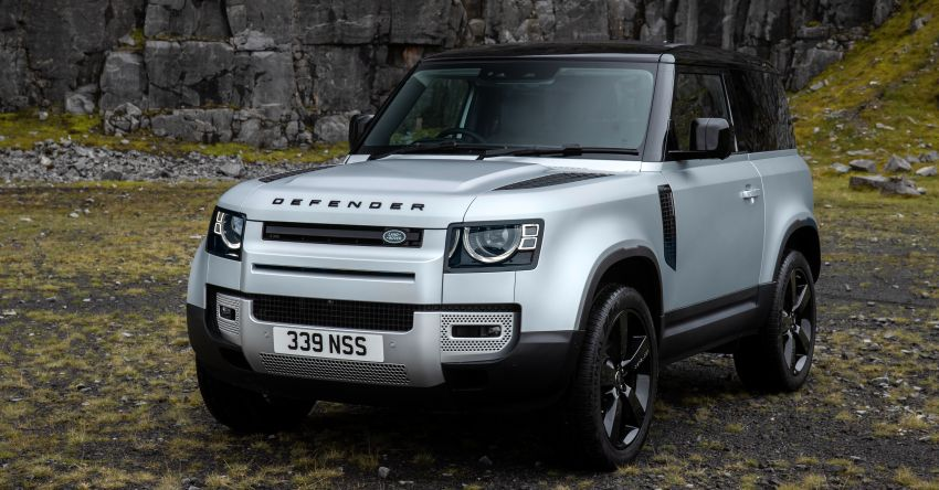 2021 Land Rover Defender – X-Dynamic trim variant, 404 PS P400e PHEV and inline-six Ingenium diesels Image #1173375