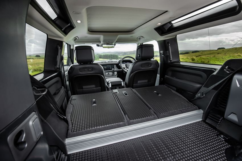 2021 Land Rover Defender – X-Dynamic trim variant, 404 PS P400e PHEV and inline-six Ingenium diesels Image #1173455