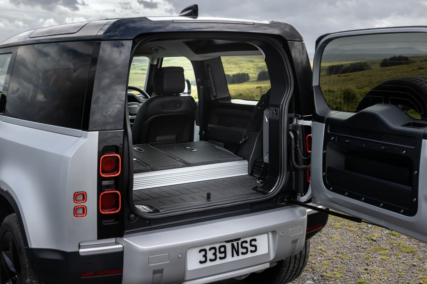 2021 Land Rover Defender – X-Dynamic trim variant, 404 PS P400e PHEV and inline-six Ingenium diesels Image #1173452