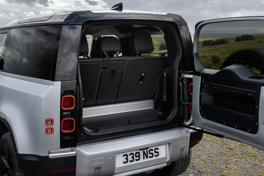 2021 Land Rover Defender – X-Dynamic trim variant, 404 PS P400e PHEV and inline-six Ingenium diesels Image #1173451