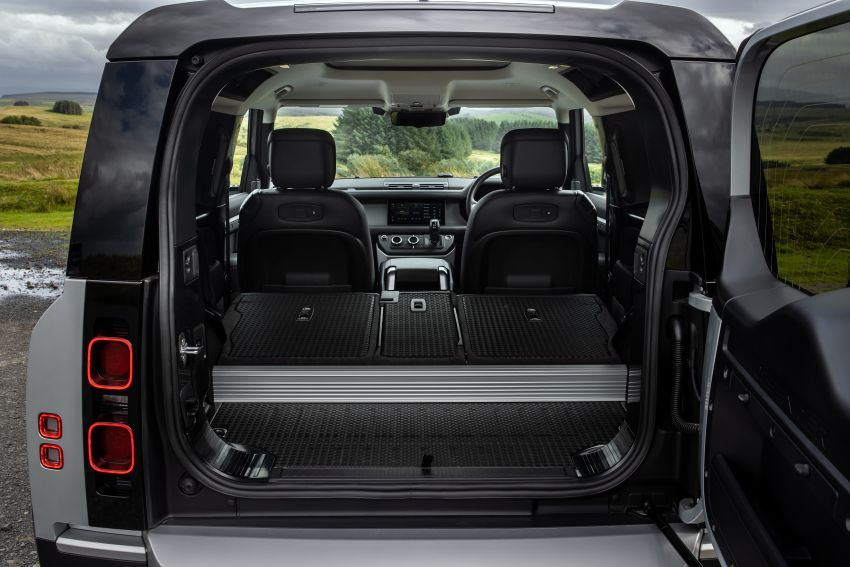2021 Land Rover Defender – X-Dynamic trim variant, 404 PS P400e PHEV and inline-six Ingenium diesels Image #1173450