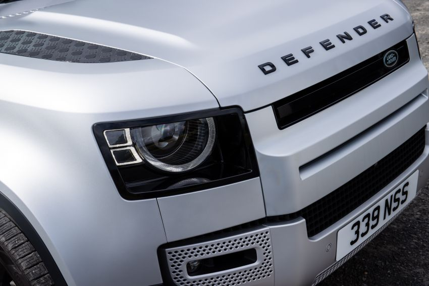 2021 Land Rover Defender – X-Dynamic trim variant, 404 PS P400e PHEV and inline-six Ingenium diesels Image #1173447