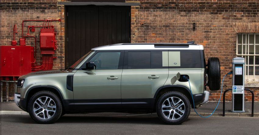2021 Land Rover Defender – X-Dynamic trim variant, 404 PS P400e PHEV and inline-six Ingenium diesels Image #1173461