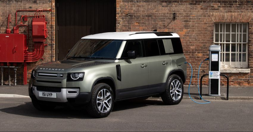 2021 Land Rover Defender – X-Dynamic trim variant, 404 PS P400e PHEV and inline-six Ingenium diesels Image #1173462