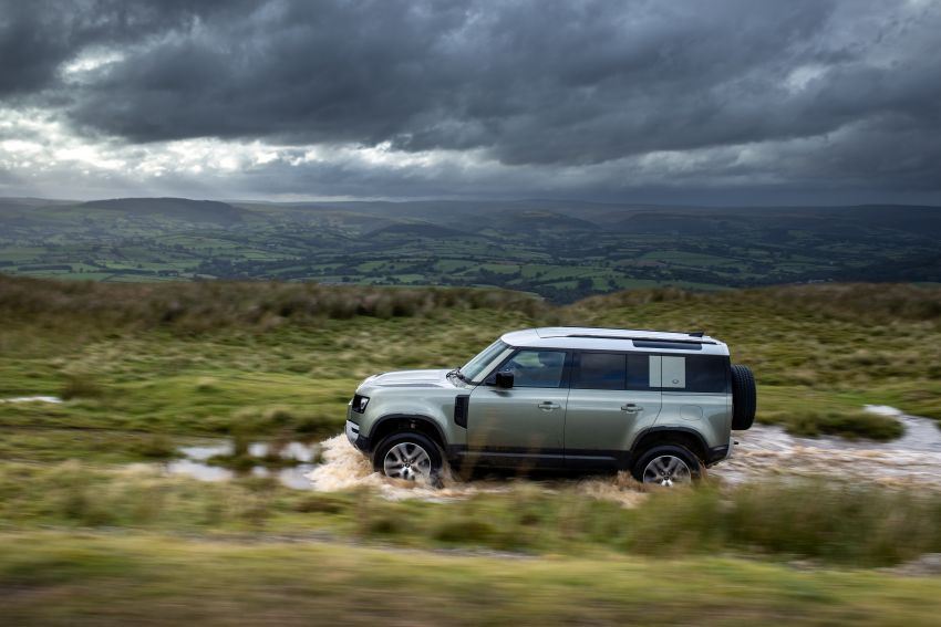 2021 Land Rover Defender – X-Dynamic trim variant, 404 PS P400e PHEV and inline-six Ingenium diesels Image #1173467