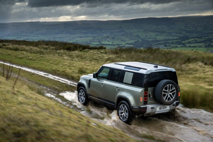 2021 Land Rover Defender – X-Dynamic trim variant, 404 PS P400e PHEV and inline-six Ingenium diesels Image #1173468