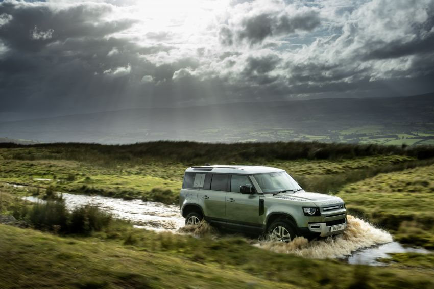 2021 Land Rover Defender – X-Dynamic trim variant, 404 PS P400e PHEV and inline-six Ingenium diesels Image #1173469