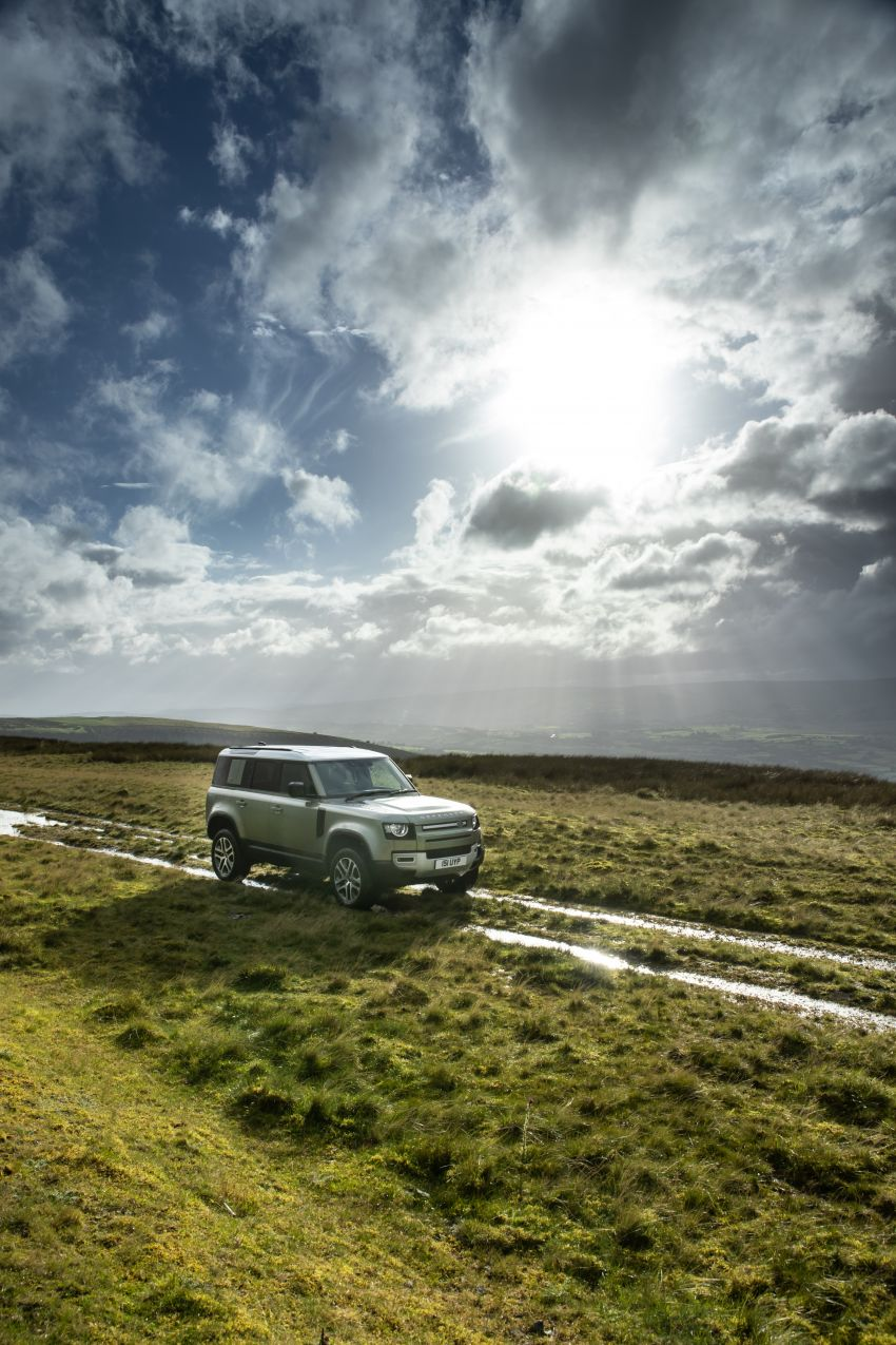 2021 Land Rover Defender – X-Dynamic trim variant, 404 PS P400e PHEV and inline-six Ingenium diesels Image #1173470