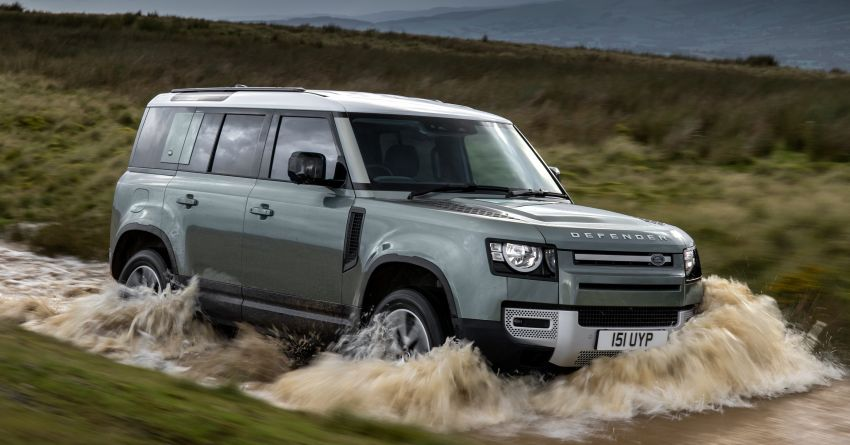 2021 Land Rover Defender – X-Dynamic trim variant, 404 PS P400e PHEV and inline-six Ingenium diesels Image #1173473