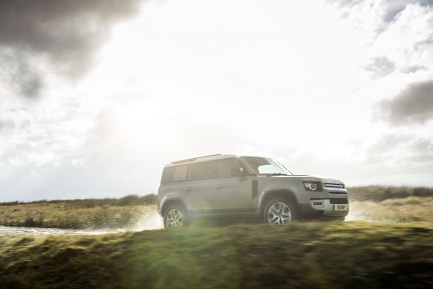 2021 Land Rover Defender – X-Dynamic trim variant, 404 PS P400e PHEV and inline-six Ingenium diesels Image #1173474