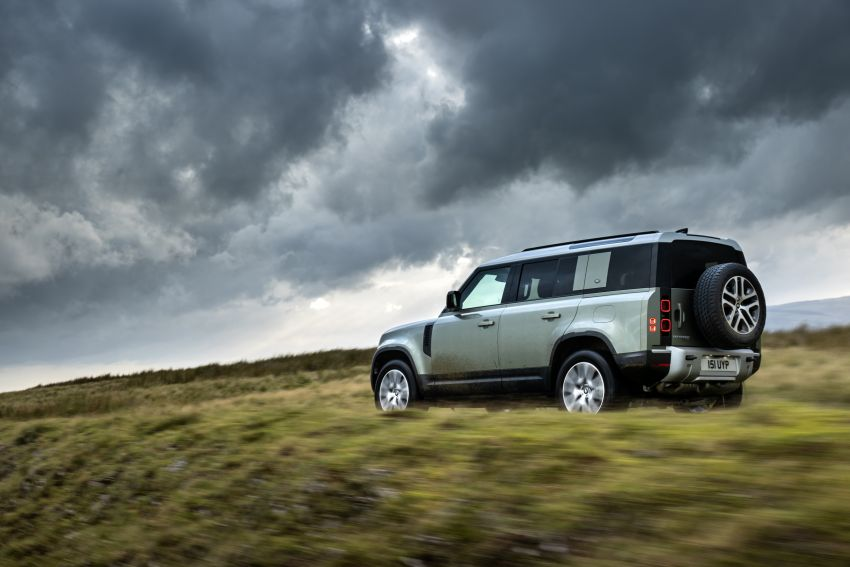 2021 Land Rover Defender – X-Dynamic trim variant, 404 PS P400e PHEV and inline-six Ingenium diesels Image #1173476