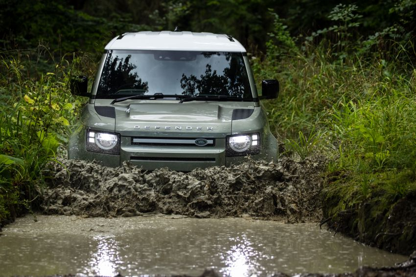 2021 Land Rover Defender – X-Dynamic trim variant, 404 PS P400e PHEV and inline-six Ingenium diesels Image #1173479