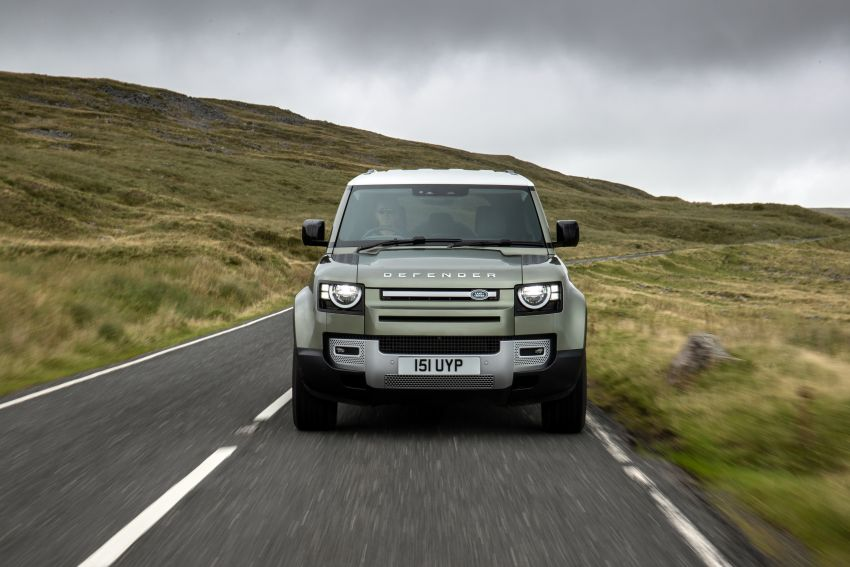 2021 Land Rover Defender – X-Dynamic trim variant, 404 PS P400e PHEV and inline-six Ingenium diesels Image #1173481