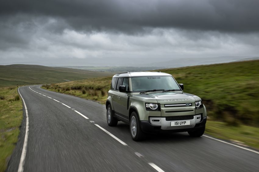 2021 Land Rover Defender – X-Dynamic trim variant, 404 PS P400e PHEV and inline-six Ingenium diesels Image #1173482