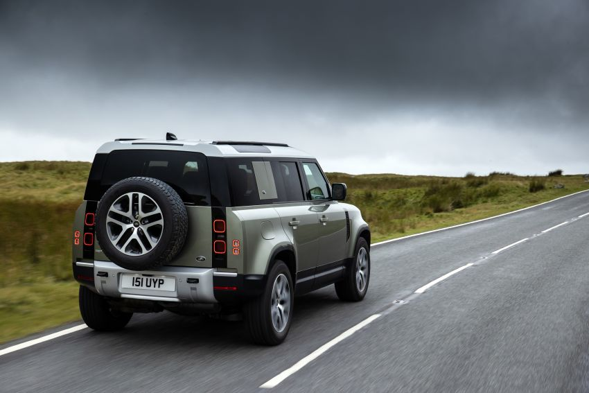 2021 Land Rover Defender – X-Dynamic trim variant, 404 PS P400e PHEV and inline-six Ingenium diesels Image #1173483