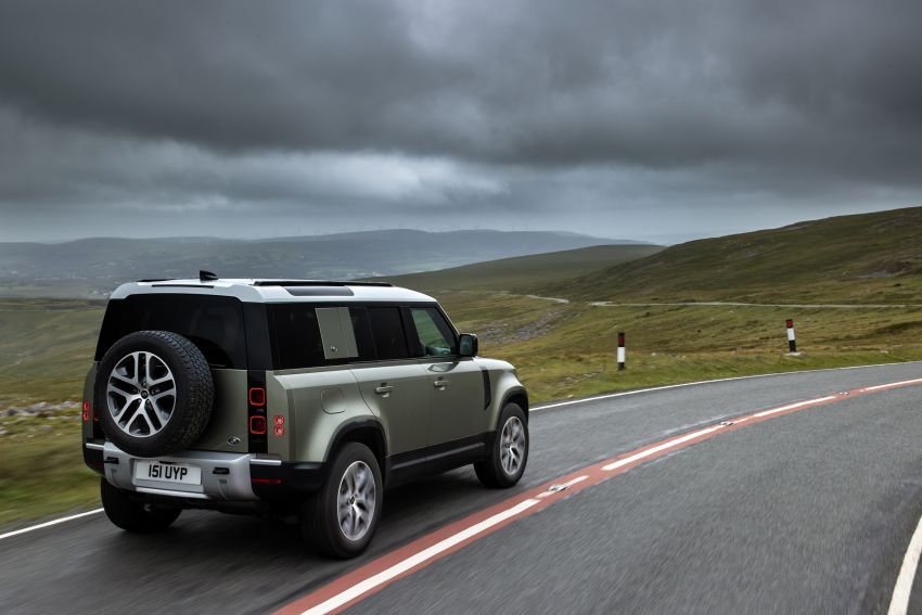 2021 Land Rover Defender – X-Dynamic trim variant, 404 PS P400e PHEV and inline-six Ingenium diesels Image #1173489