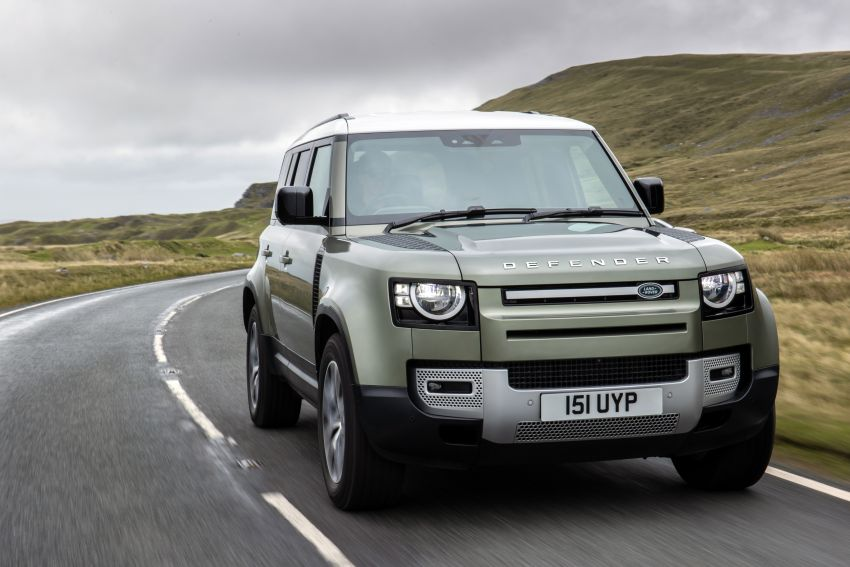 2021 Land Rover Defender – X-Dynamic trim variant, 404 PS P400e PHEV and inline-six Ingenium diesels Image #1173490