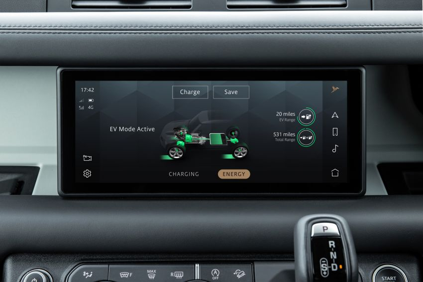 2021 Land Rover Defender – X-Dynamic trim variant, 404 PS P400e PHEV and inline-six Ingenium diesels Image #1173493