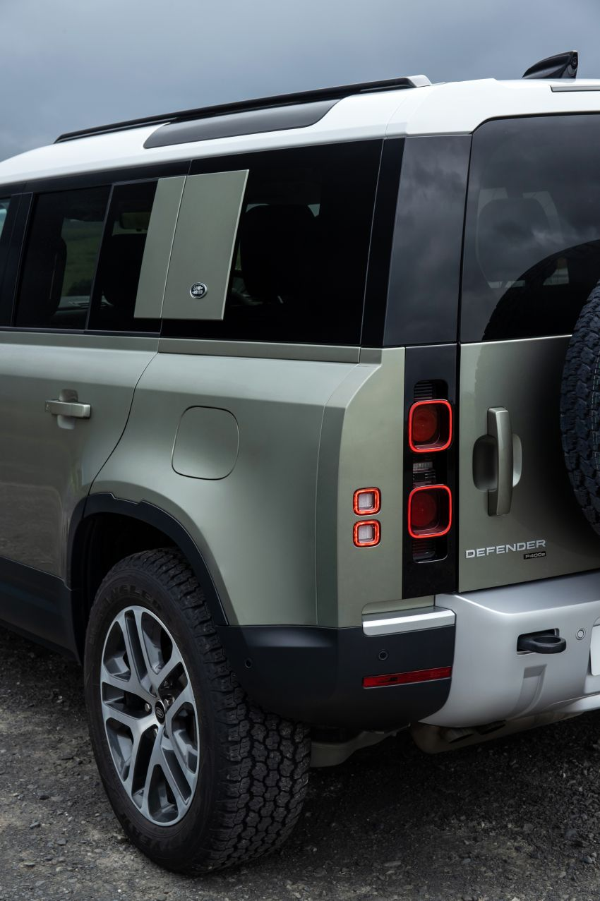 2021 Land Rover Defender – X-Dynamic trim variant, 404 PS P400e PHEV and inline-six Ingenium diesels Image #1173497