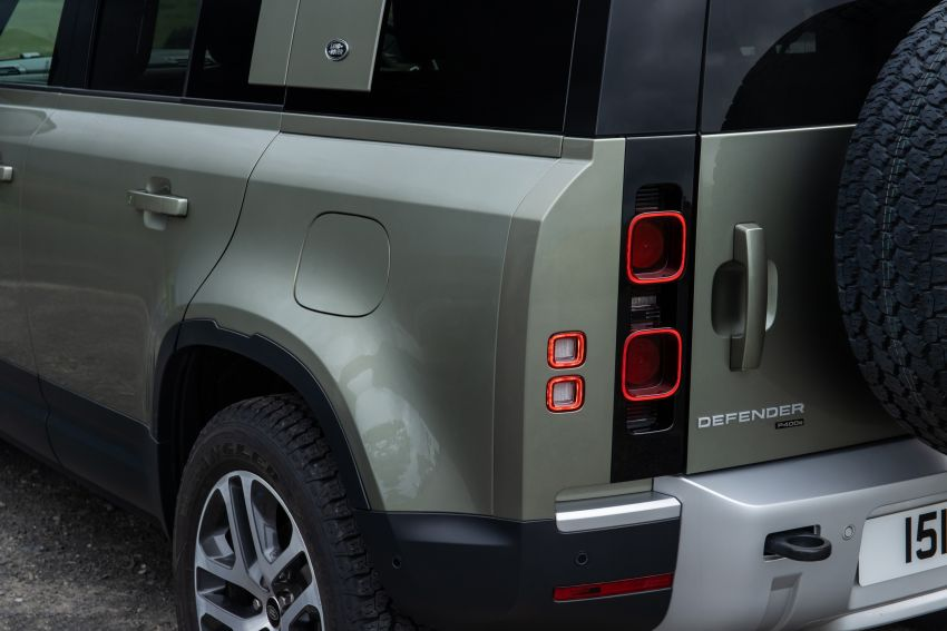 2021 Land Rover Defender – X-Dynamic trim variant, 404 PS P400e PHEV and inline-six Ingenium diesels Image #1173498