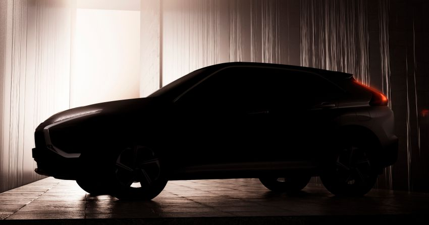 2021 Mitsubishi Eclipse Cross facelift teased ahead of Q1 debut; all new US models to get AEB as standard Image #1178672