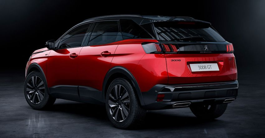 2021 Peugeot 3008 facelift debuts – bolder front face, updated cabin and tech, new PHEV variant with 225 hp Image #1169587