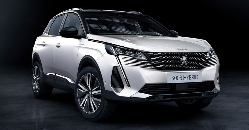 2021 Peugeot 3008 facelift debuts – bolder front face, updated cabin and tech, new PHEV variant with 225 hp Image #1169579