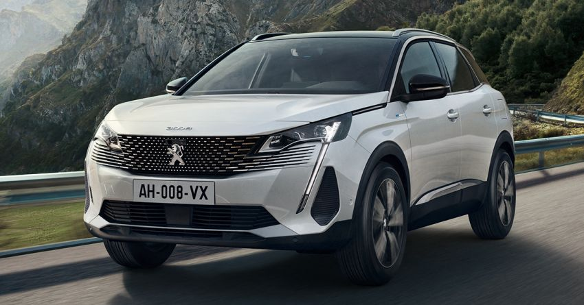 2021 Peugeot 3008 facelift debuts – bolder front face, updated cabin and tech, new PHEV variant with 225 hp Image #1169611
