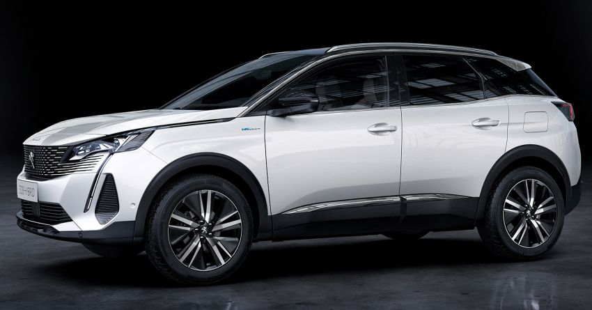 2021 Peugeot 3008 facelift debuts – bolder front face, updated cabin and tech, new PHEV variant with 225 hp Image #1169621