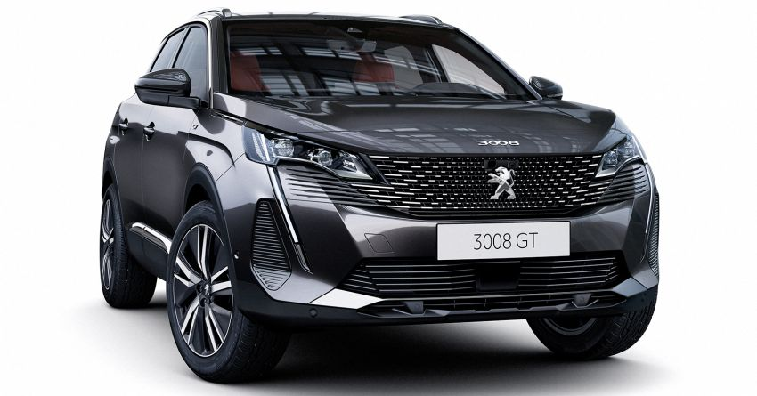 2021 Peugeot 3008 facelift debuts – bolder front face, updated cabin and tech, new PHEV variant with 225 hp Image #1169599