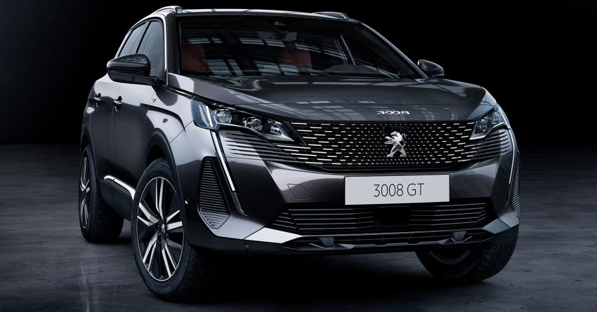 2021 Peugeot 3008 facelift debuts – bolder front face, updated cabin and tech, new PHEV variant with 225 hp Image #1169600