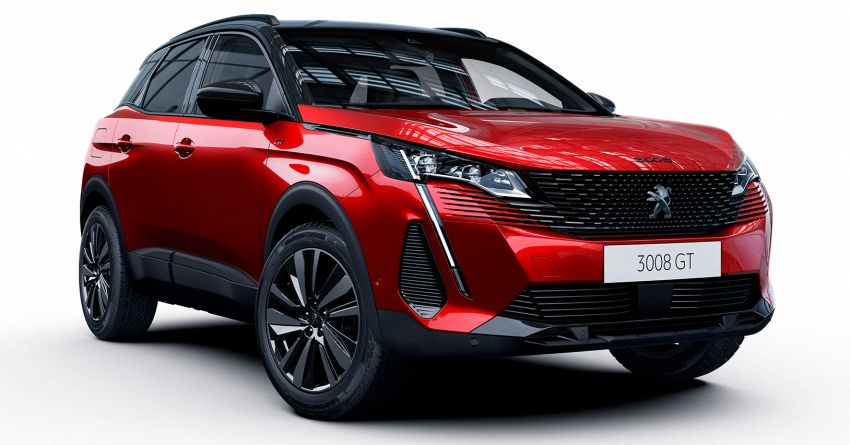 2021 Peugeot 3008 facelift debuts – bolder front face, updated cabin and tech, new PHEV variant with 225 hp Image #1169601