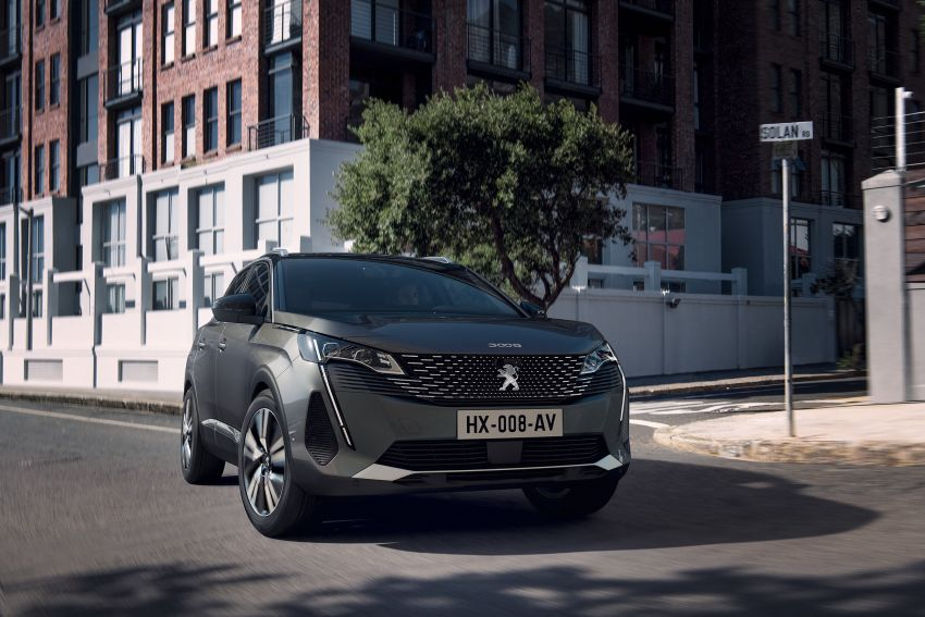 2021 Peugeot 3008 facelift debuts – bolder front face, updated cabin and tech, new PHEV variant with 225 hp Image #1169604