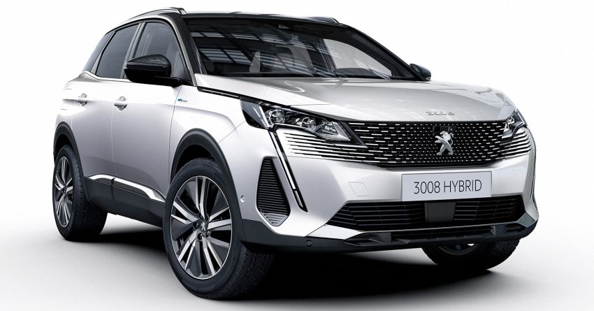 2021 Peugeot 3008 facelift debuts – bolder front face, updated cabin and tech, new PHEV variant with 225 hp Image #1169616