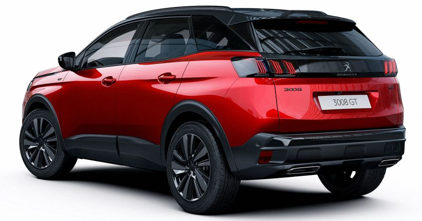 2021 Peugeot 3008 facelift debuts – bolder front face, updated cabin and tech, new PHEV variant with 225 hp Image #1169617