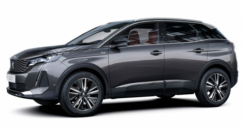 2021 Peugeot 3008 facelift debuts – bolder front face, updated cabin and tech, new PHEV variant with 225 hp Image #1169618