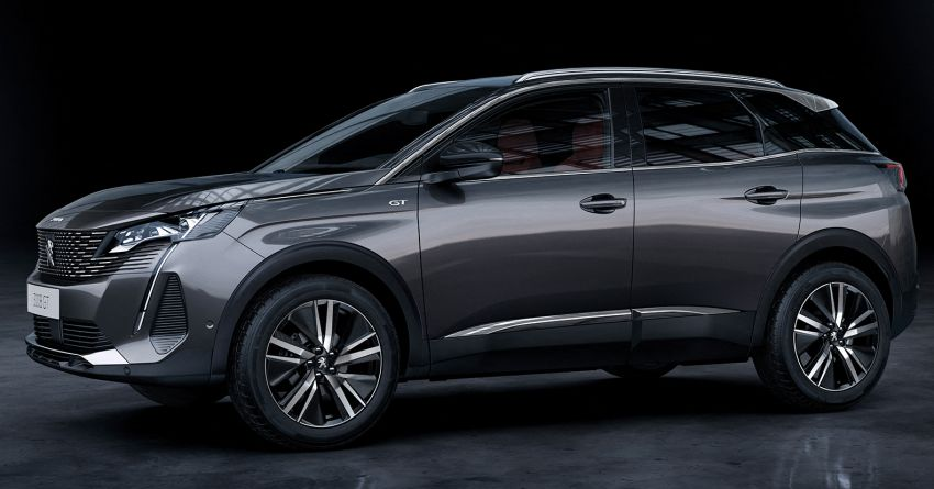 2021 Peugeot 3008 facelift debuts – bolder front face, updated cabin and tech, new PHEV variant with 225 hp Image #1169619