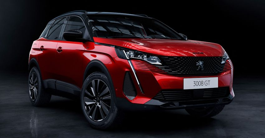 2021 Peugeot 3008 facelift debuts – bolder front face, updated cabin and tech, new PHEV variant with 225 hp Image #1169562