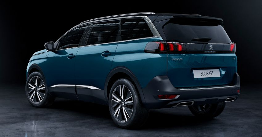 2021 Peugeot 5008 facelift debuts – seven-seater SUV gets same new face as the 3008, improved kit & safety Image #1170945