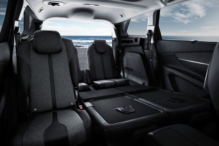 2021 Peugeot 5008 facelift debuts – seven-seater SUV gets same new face as the 3008, improved kit & safety Image #1170956