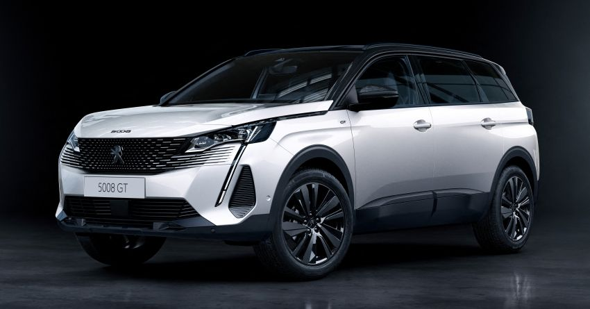 2021 Peugeot 5008 facelift debuts – seven-seater SUV gets same new face as the 3008, improved kit & safety Image #1170946