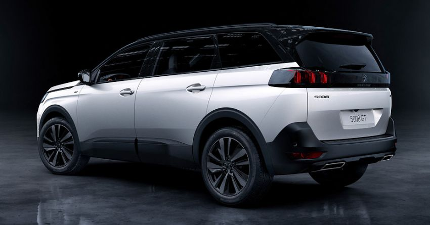 2021 Peugeot 5008 facelift debuts – seven-seater SUV gets same new face as the 3008, improved kit & safety Image #1170948