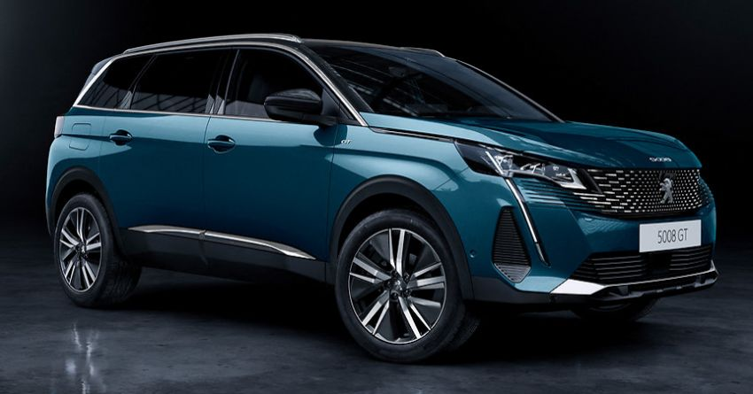 2021 Peugeot 5008 facelift debuts – seven-seater SUV gets same new face as the 3008, improved kit & safety Image #1170950