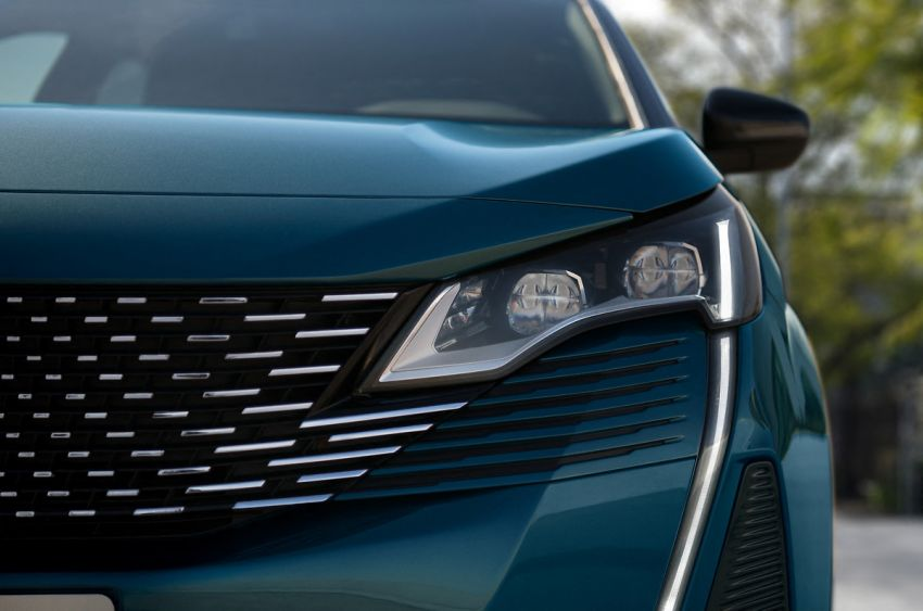 2021 Peugeot 5008 facelift debuts – seven-seater SUV gets same new face as the 3008, improved kit & safety Image #1170951