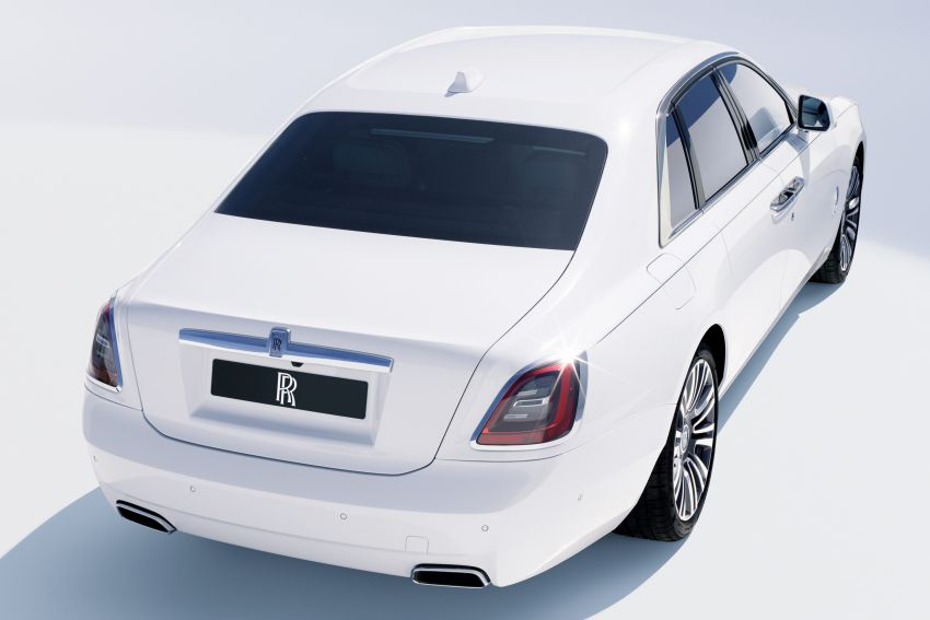 2021 Rolls-Royce Ghost unveiled – new aluminium architecture shared with Phantom, 563 hp 6.75L V12 Image #1169997